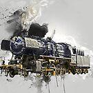 « Locomotive » par Chrystelle Hubert
