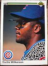 392 - Curtis Wilkerson by Foob's Baseball Cards