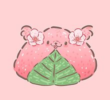 Sakura Mochi Pup by fluffymafi