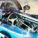 Blue Formula Vee Cockpit by Stuart Row