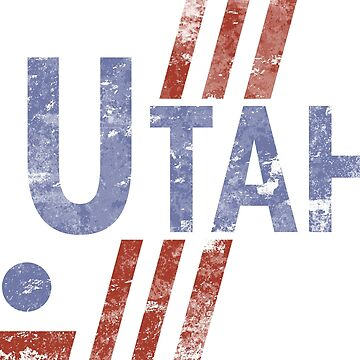 Utah Hockey Vintage by theroyalhalf