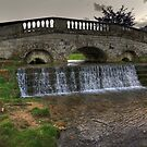 Bridge & Waterfall by Trevor Kersley