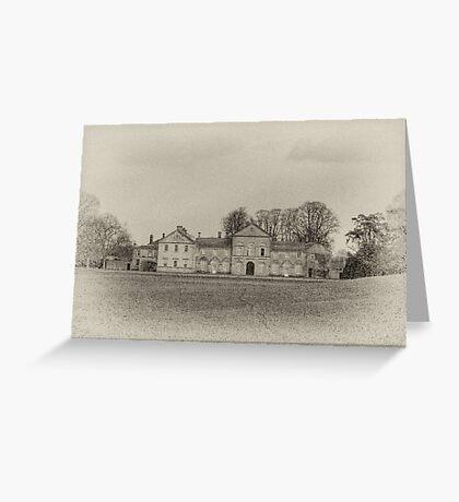 Hovingham Hall - North Yorkshire Greeting Card