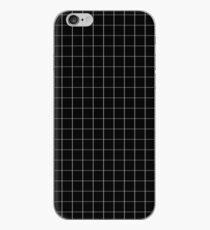 BLACK GRID PHONE CASE iPhone Case