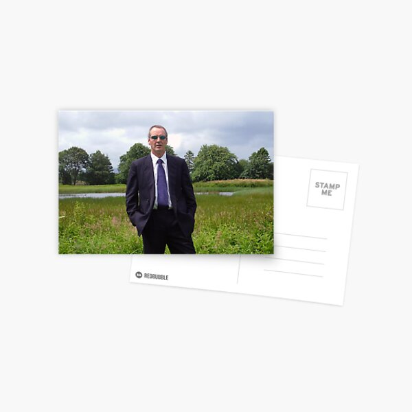 Suited  and  Booted Postcard
