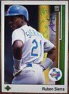 040 - Ruben Sierra by Foob's Baseball Cards