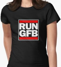 Run GFB - Get bopped Women's Fitted T-Shirt