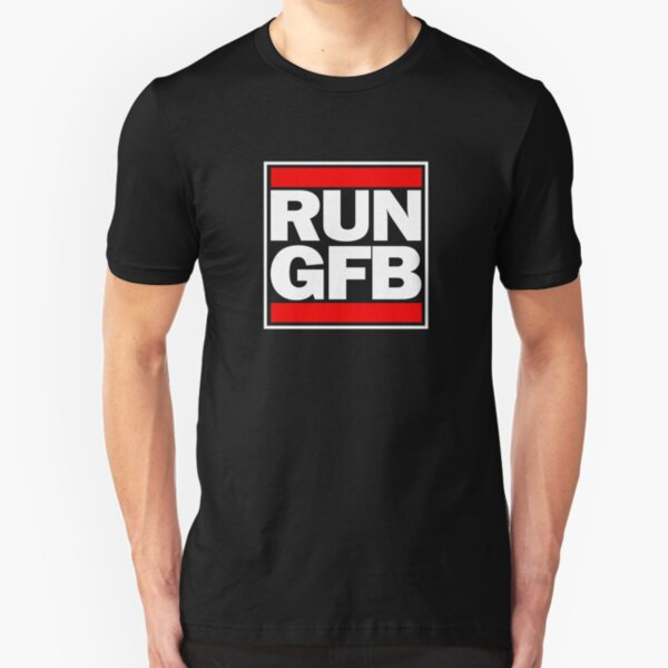 Run GFB - Get bopped Slim Fit T-Shirt