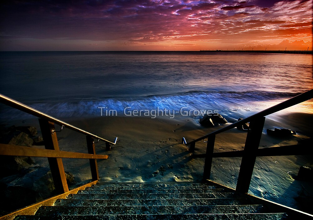 The Missing Steps by Tim  Geraghty-Groves