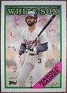 044 - Harold Baines by Foob's Baseball Cards