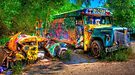 Jimbo's Magic Bus (and Squashed Bug, too) by Bill Wetmore