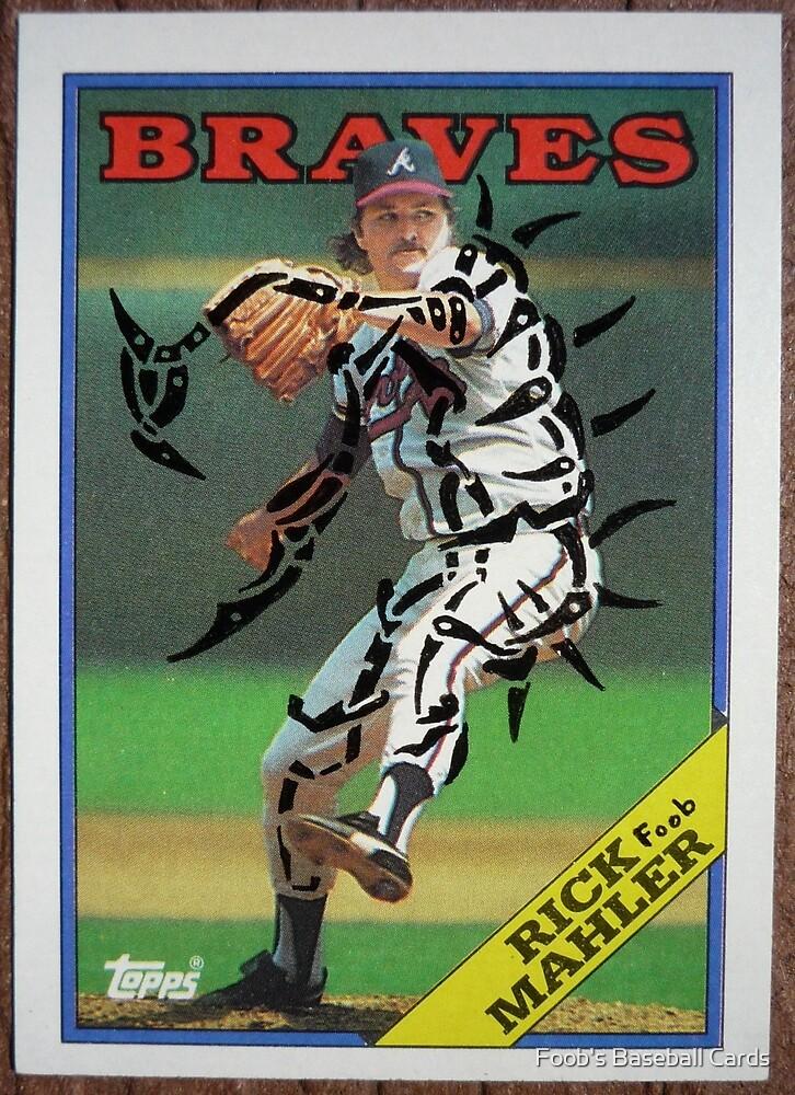 050 - Rick Mahler by Foob's Baseball Cards