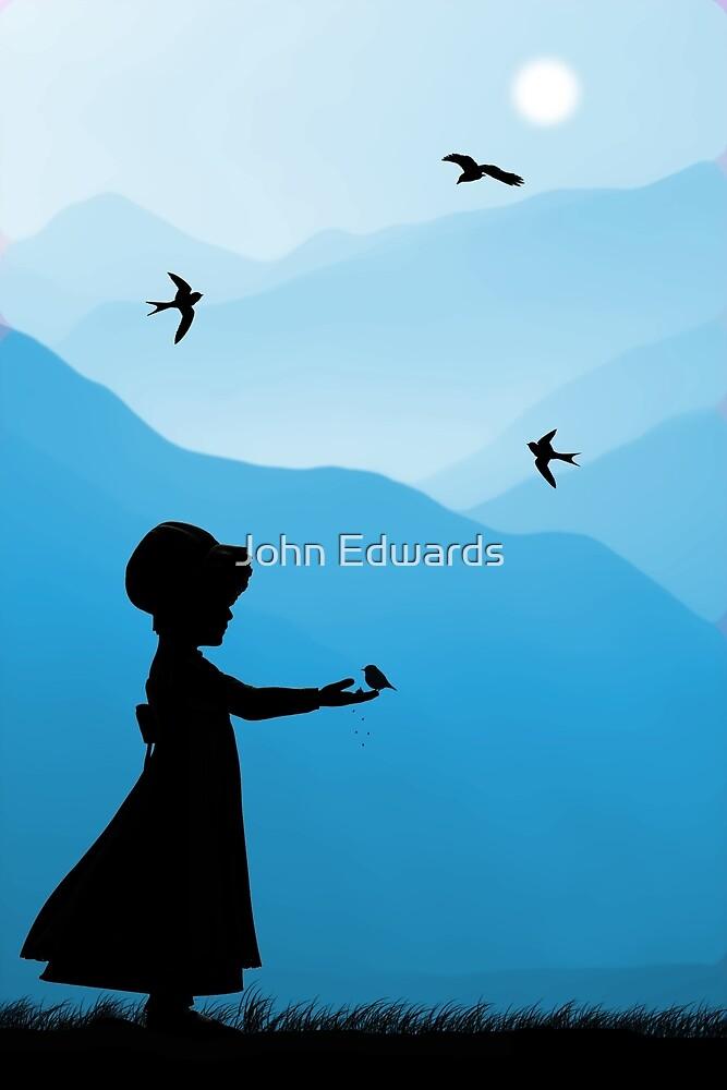 Childhood dreams, Feeding Time by John Edwards