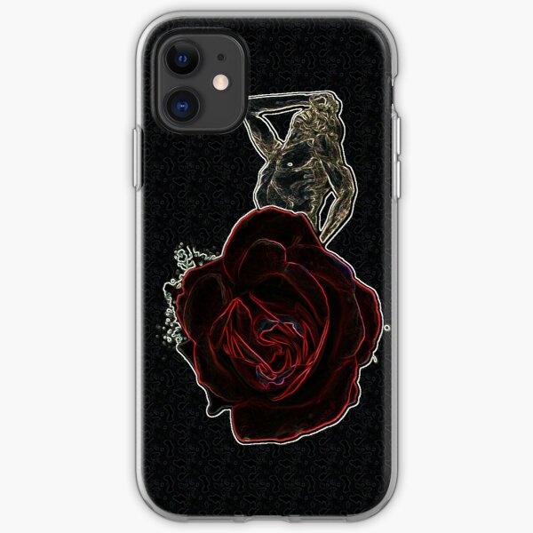 Memorial Rose iPhone Soft Case