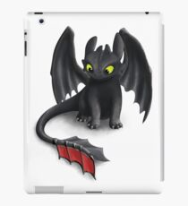 Toothless, Night Fury Inspired Dragon. iPad Case/Skin