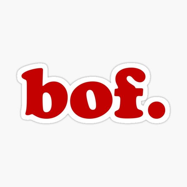 Bof - Expression en français pour 'meh' Sticker
