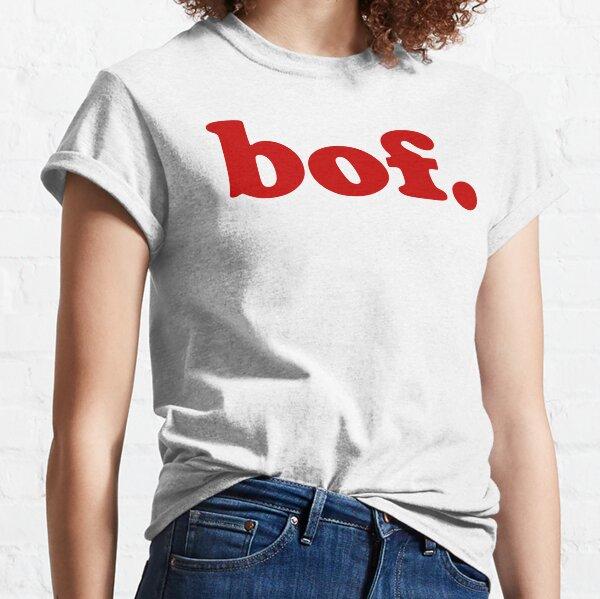 Bof - Expression en français pour 'meh' T-shirt classique
