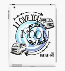 Love my camper to the moon and back iPad Case/Skin