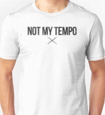 Whiplash - Not My Tempo - Black Dirty Slim Fit T-Shirt