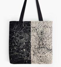 Simone Farnocchia bianco e nero Tote Bag