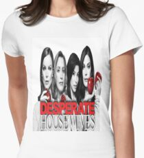 Desperate Housewives Women's Fitted T-Shirt