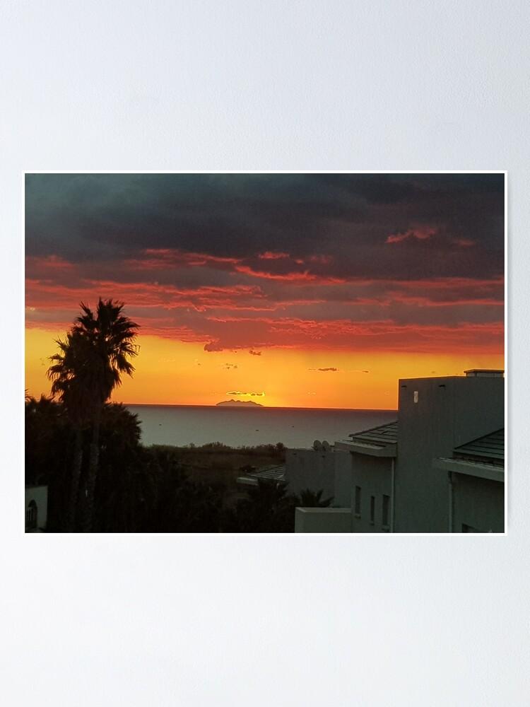 Alternative Ansicht von Sonnenaufgang Poster