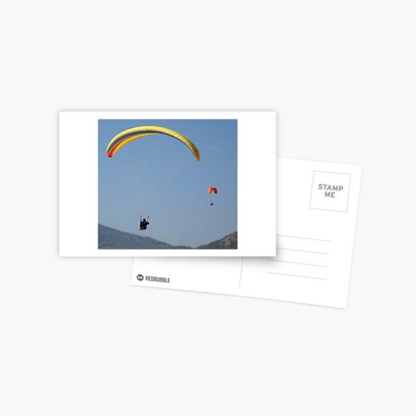 Turkish Paragliders Postcard