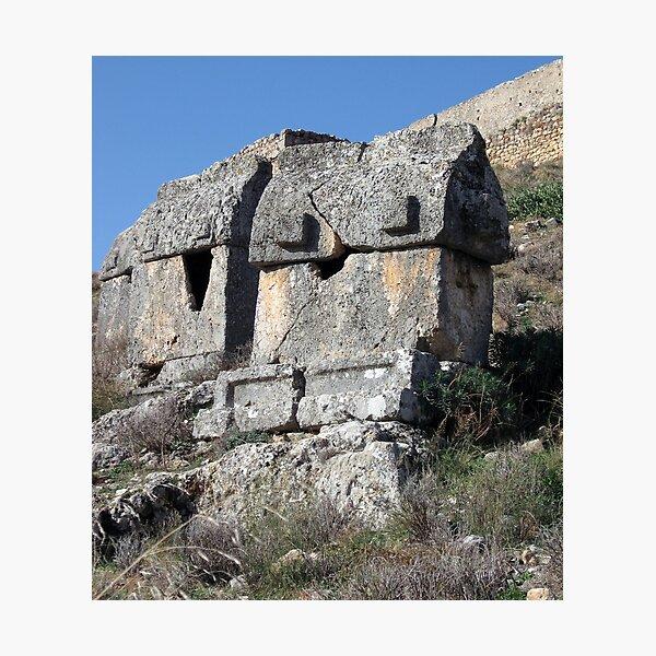 Tlos Ruins Photographic Print