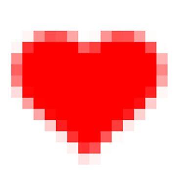 Pixelated Liebes-Herz von drubdrub