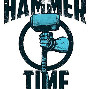Thor- Hammer Time! Mjolnir 2 by art78
