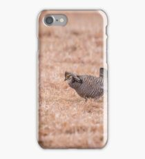 Prairie Chicken 3-2015 iPhone Case/Skin