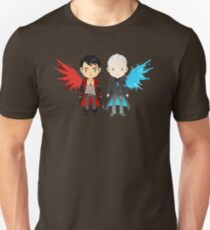 Dante and Virgil Unisex T-Shirt