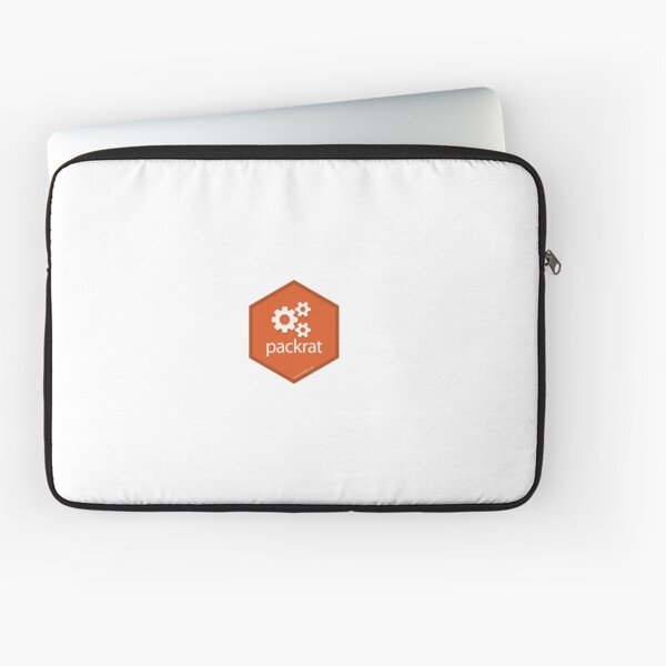 R Packrat Logo Laptop Sleeve