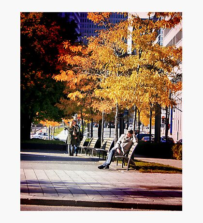 Park Lover Photographic Print