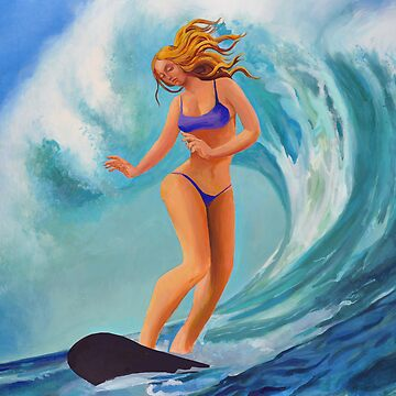 SURFER GIRL #1 by TexFX