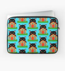 Who Lives There? Laptop Sleeve