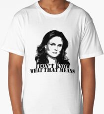 Bones - Temperance Brennan in black Long T-Shirt