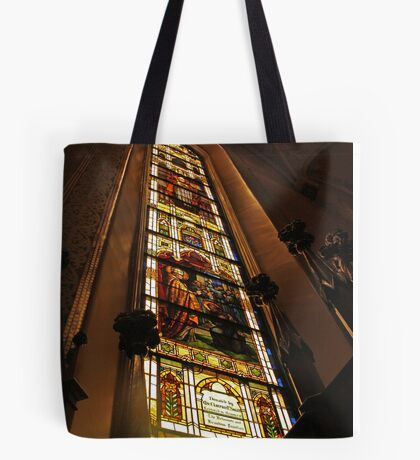 Big Colors Church Window Tote Bag