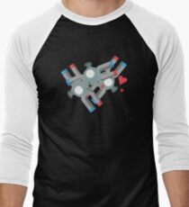 Cute Magneton Pokemon Men's Baseball ¾ T-Shirt