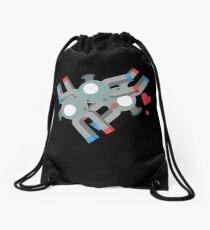 Cute Magneton Pokemon Drawstring Bag
