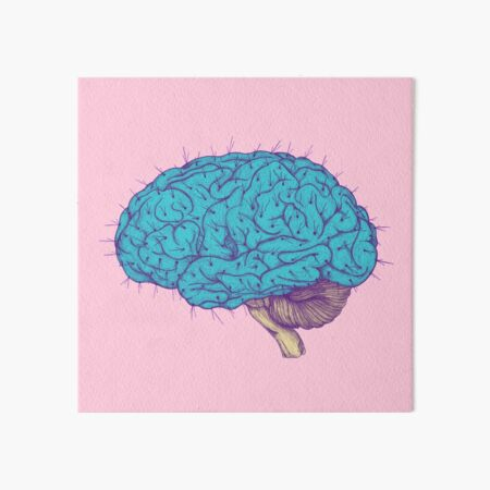 Succulent Mind Art Board Print