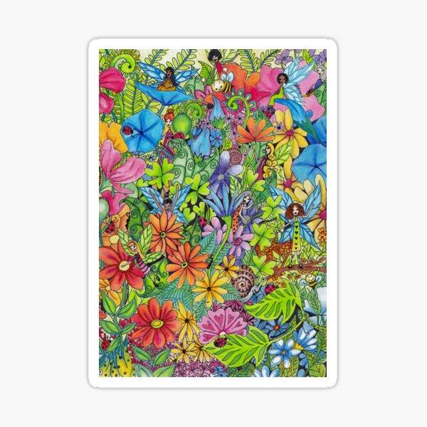 Fairy Garden Sticker