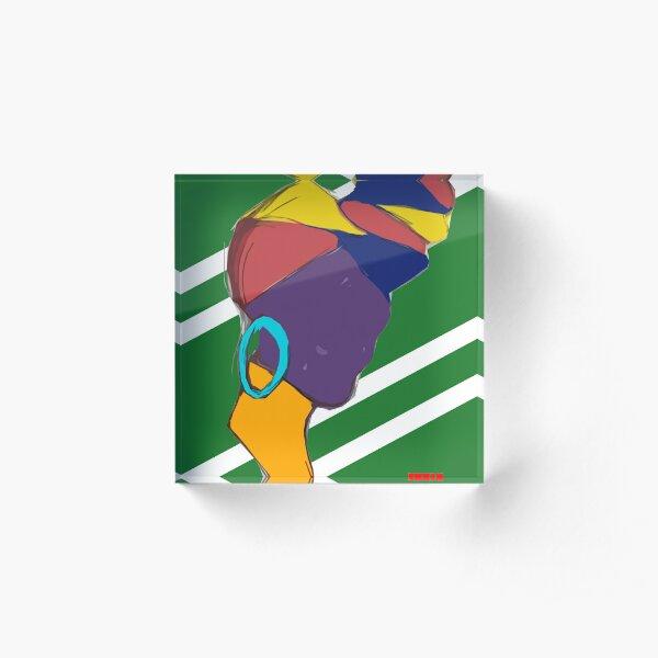 Alicia Keys Acrylic Block