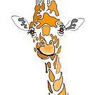 Patchwork Giraffe by Adam Regester