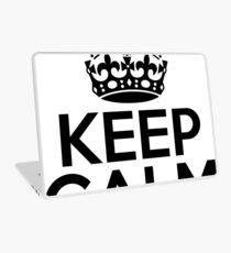 Keep Calm Laptop Skin