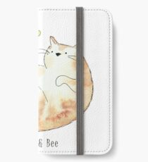 Bumble the Cat & Bee iPhone Wallet/Case/Skin
