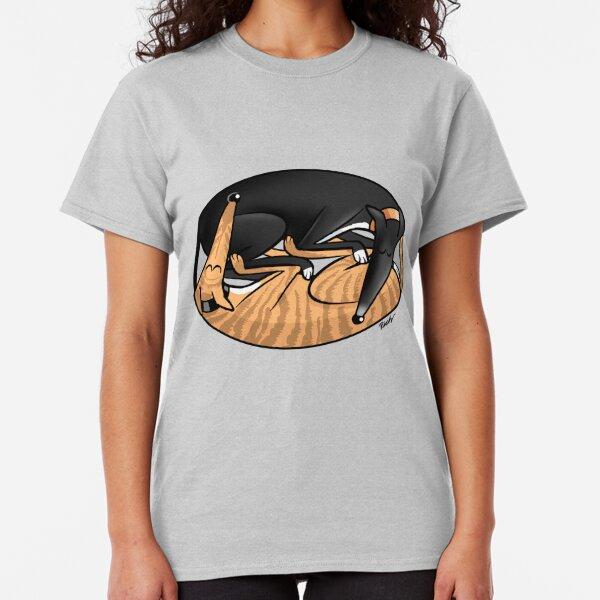 Yin Yang Hounds: A Redbubble exclusive design Classic T-Shirt