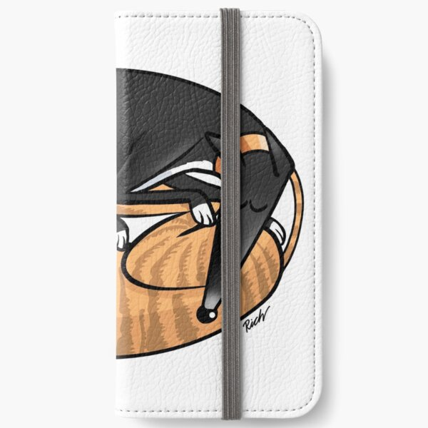 Yin Yang Hounds: A Redbubble exclusive design iPhone Wallet