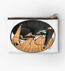Yin Yang Hounds: A Redbubble exclusive design Studio Pouch