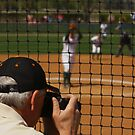 Photographer Captures the Action at a Softball Game by Buckwhite